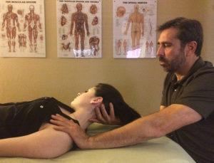 Client Receiving LymphPractic
